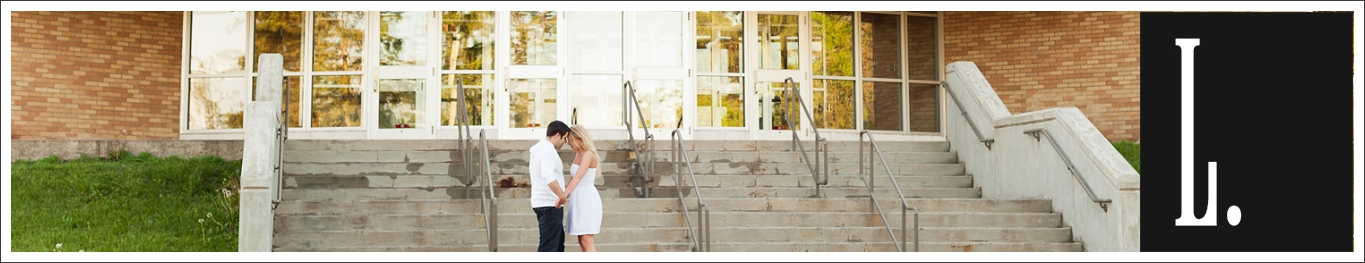 Back to School Engagement Session in Duluth // Whitney and Mark // Back to You Again