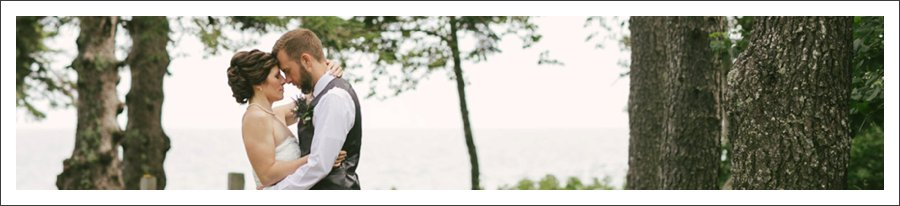 Stacy + Ryan  //  Larsmont Cottages Wedding  //  by Amy